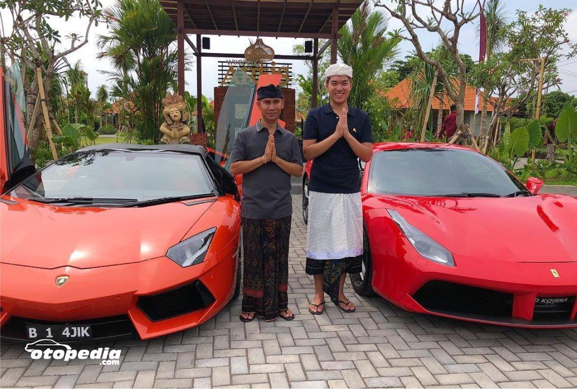 Koleksi Mobil Mewah Milik Ajik Cok Pengusaha Asal Bali