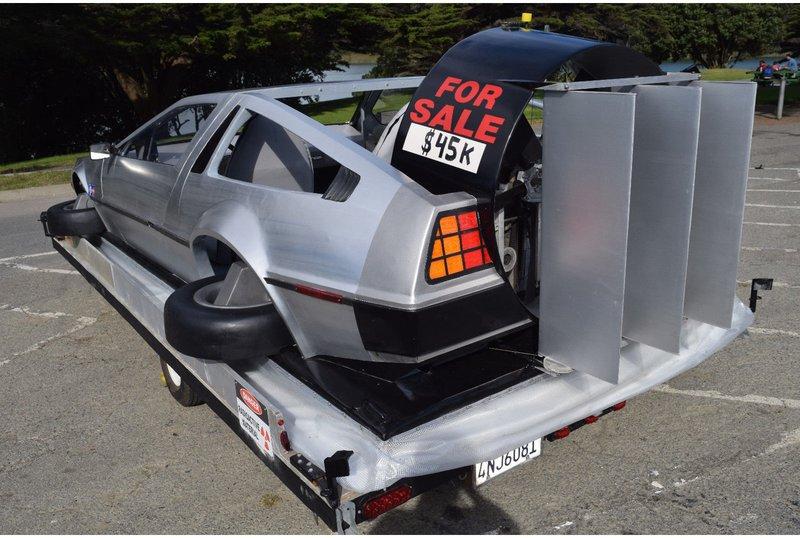 Delorean Car For Sale >> Replika Mobil Masa Depan Delorean Bisa Mengambang Di Air